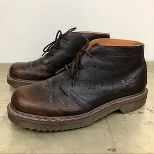 Dr. Martens 1B61 Brown Leather Chukka Boot